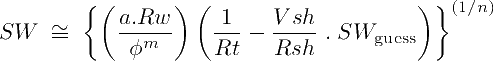 Solving the Modified Simandox Equation by numerical iterations
