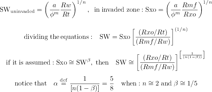Mathematical proof of the SW Ratio Equation